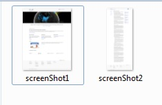 Capture Multiple Screenshots
