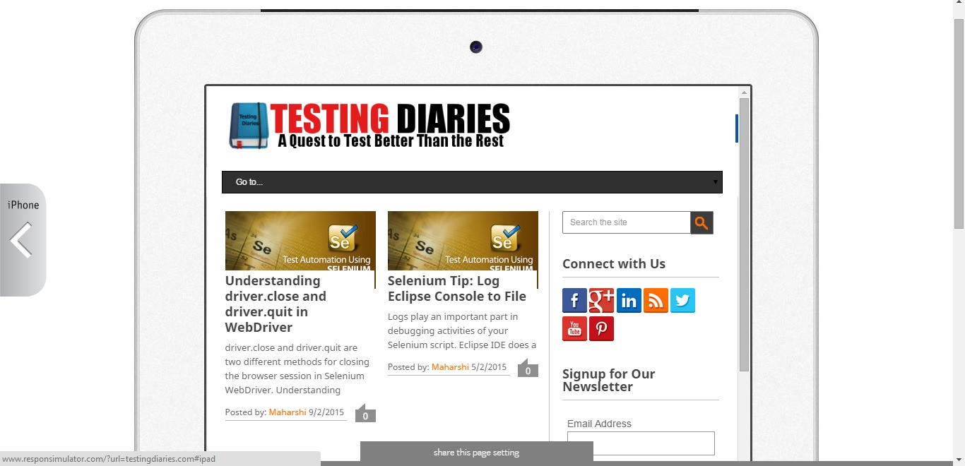 2 Great Online Tools for iOS Testing - Testing Diaries