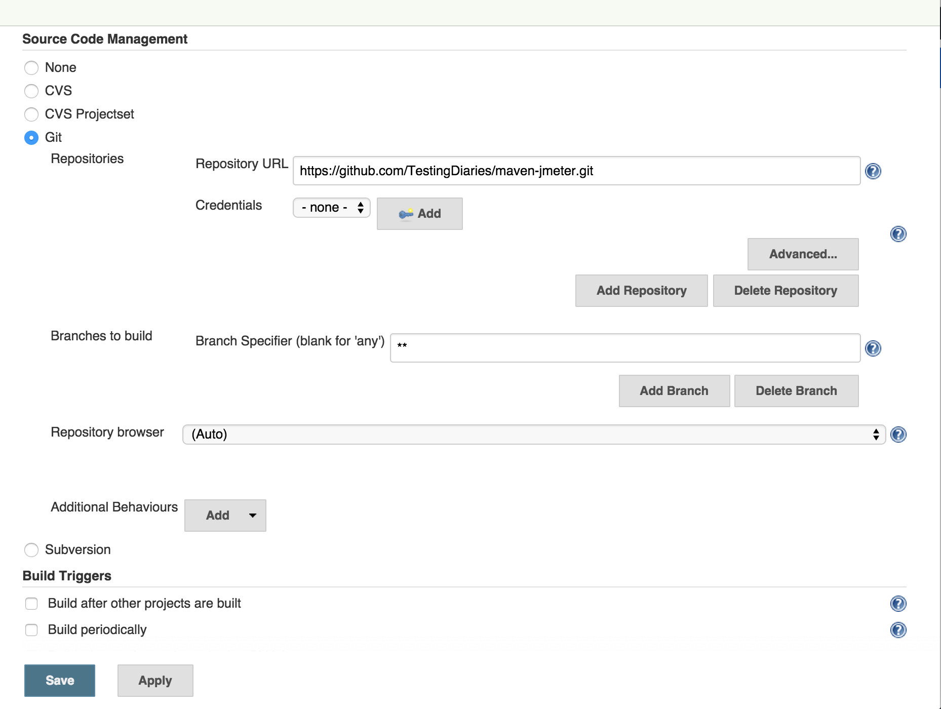 JMeter with Jenkins: Performance Testing in CI Environment