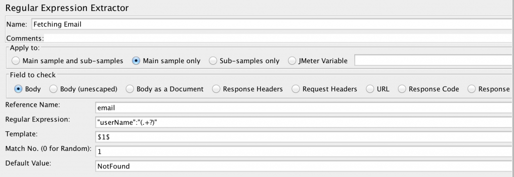 Write Response to File in JMeter
